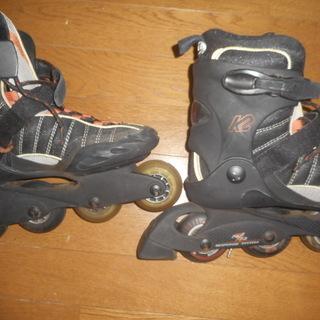 インラインスケートセット! 25.5cm