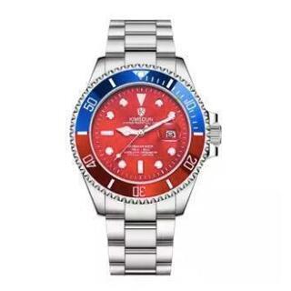 314 【新品箱なし】KIMSDUN メンズ 自動巻腕時計 機械...