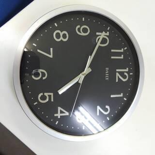 壁掛け時計 DAILY  ブラック