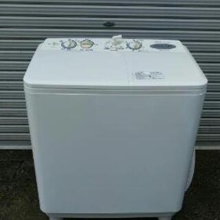 【販売中】AQUAアクア 二層式電気洗濯機 AQW-N45 4....