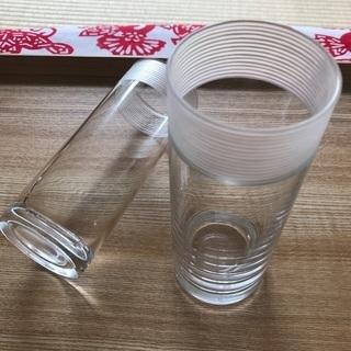 グラス 二個セットで