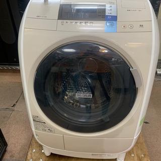 HITACHI ドラム式洗濯乾燥機 BD-V3600 2014年...