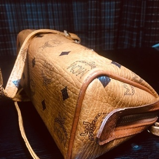 MCMミニボストンバッグ ショルダーバッグ - 靴/バッグ