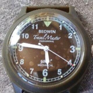 BEDWINアーミーウオッチ腕時計手巻き
