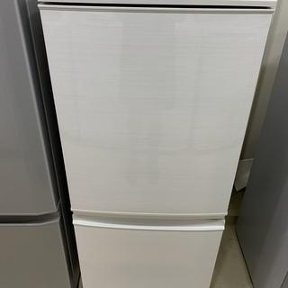 冷蔵庫 SHARP シャープ SJ-D14C-W 2017年製 ...