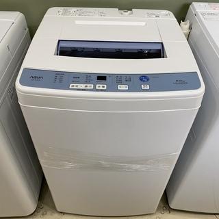 洗濯機 アクア AQUA AQW-S60F(W) 2017年製 ...