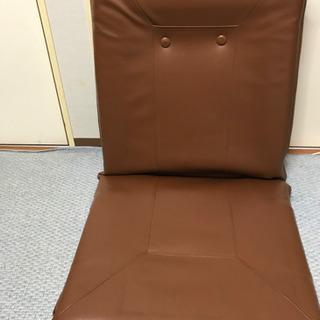 ブリジストン 座椅子 ブラウン