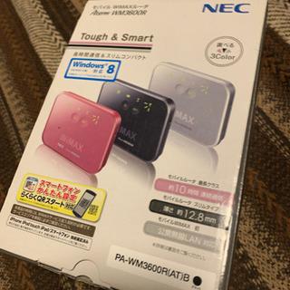 NEC モバイルWiMAXルーター 黒