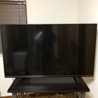 テレビ 49インチ MTH-49WX4K 4K対応テレビ