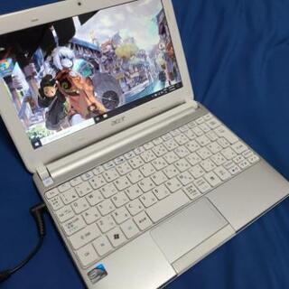 コンパクト!Acer ネットブック aspire one