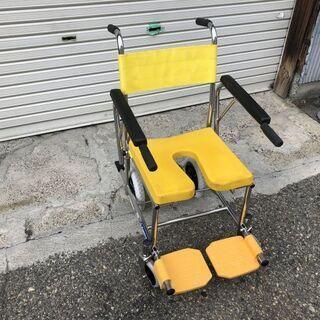 ★動作〇★ 介助用車椅子 KAWAMURA KS4 シャワーキャ...