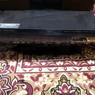 2011年製 シャープ ブルーレイディスクレコーダー