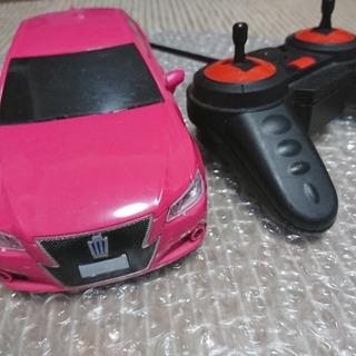 トヨタ TOYOT ピンク クラウン CROWN ラジコン 電池式