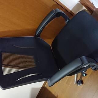 オフィスチェア  オットマン付き ハイバック