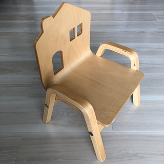 水戸orつくば✩キッズチェア 木製 子供用椅子