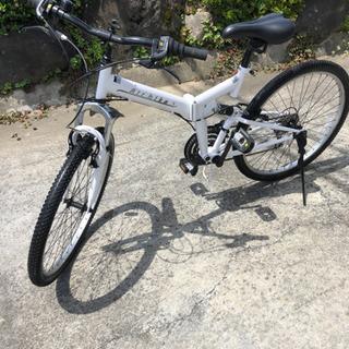 AIR BIKE 26インチ 折りたたみ自転車