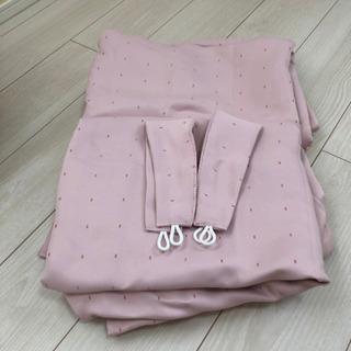 ニトリ カーテン ピンク