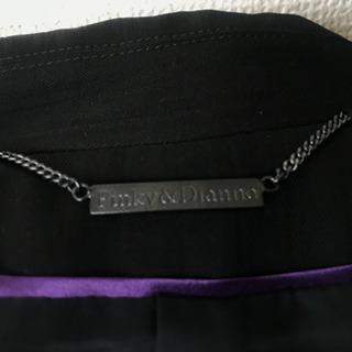 ブランド レディースパンツスーツ ブラック