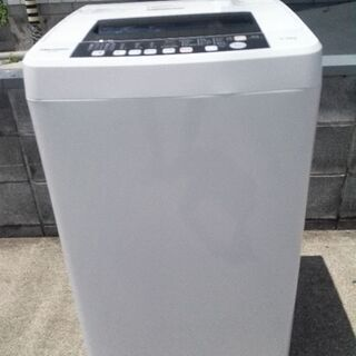 ハイセンス 全自動洗濯機 5.5kg 18年製 新品同様 配送無料