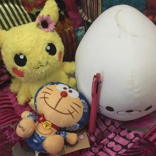 【美品0円】ぬいぐるみセット ピカチュウ♀ しろたん ハワイなド...