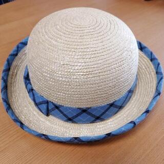 しもさかべ幼稚園夏用通園帽子