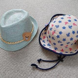 美品☆夏物☆帽子セット☆50cm