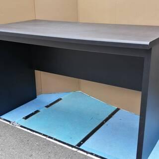 ☆中古 激安!! シンプルテーブル 学習机 黒色 サイズ 横幅1...