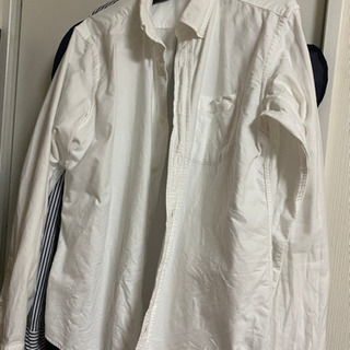 ⑥ GU シャツ 長袖 サイズL 2着