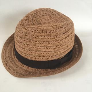 【値下げ】麦わら帽子 ストローハット 中折れ帽 レディース 大き...