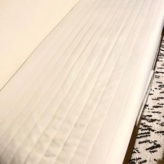 無印良品 シングルベッド 足つきマットレス