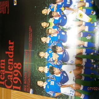 Jリーグポスターと 日本代表カレンダー