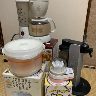 最終値下☆彡 コーヒーメーカー、ビールサーバー、レンジご飯調理器...