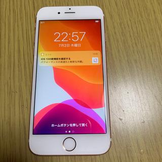 iPhone 6s Rose Gold 64 GB Softbank