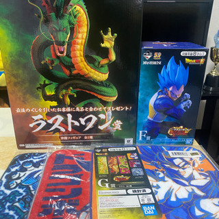 ドラゴンボール一番くじ 神龍・ラストワン賞 ベジータ・F賞