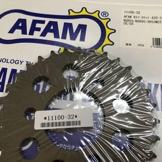 新品 AFAM リアスプロケットNSR50・80 / XR100...