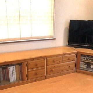 テレビ台 テレビボード 3点セット 中古 売ります
