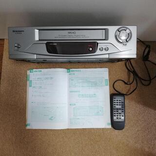 【ジャンク品】VHSビデオデッキ shintom VCR5800...