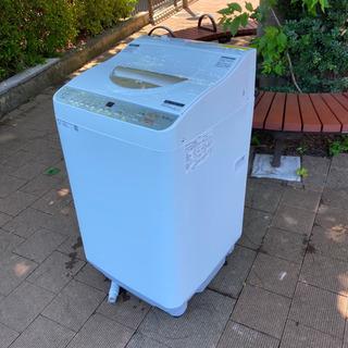 シャープ温風乾燥機付き洗濯機洗い5.5キロ乾燥3.5キロ2018年製