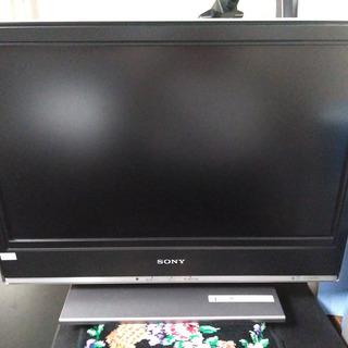 ソニー20型液晶テレビ+リモコン(HDMI入力あり)