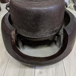 アンティーク 茶道具 茶釜 風炉釜  時代物