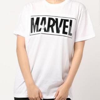 【MARVEL】マーベル Tシャツ(XL) ホワイト メンズ・レ...