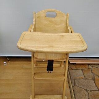 374377 KATOJI 木製ハイチェア