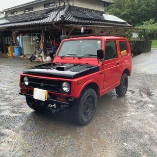 スズキ ジムニー JA11 660 4WD 4ナンバー 当時物説...
