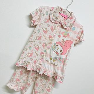パジャマ 130 120 140 かわいい ピンク フリル  マ...
