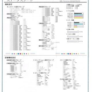 A3カラーレーザー CASIO SPEEDEA N3600