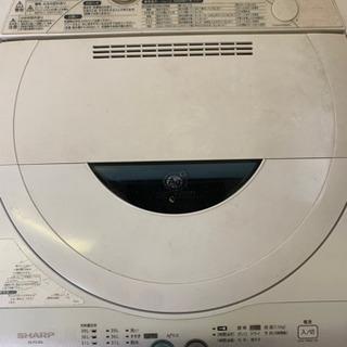 シャープ 洗濯機 4.5キロ