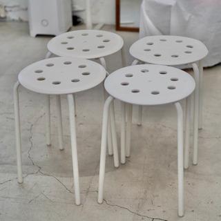 【無料】IKEA MARIUS マリウス 丸椅子