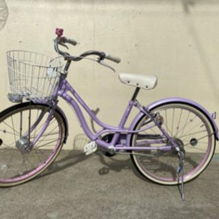 子供用 22インチ 自転車 メゾピアノ 女の子 美品
