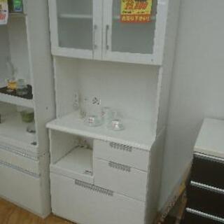 値下げしました☆食器棚.レンジボード☆ニトリ☆ホワイト☆幅…