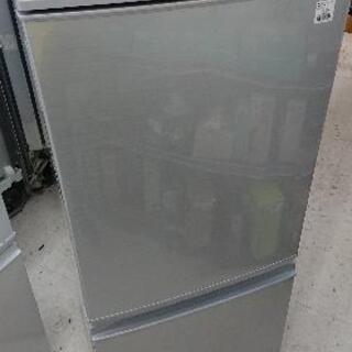 SHARP(シャープ) 2ドア冷蔵庫 SJ-D14C (2017年製)